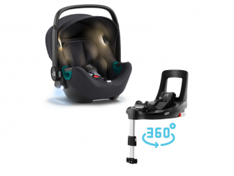Autosedačka Baby-Safe iSense Bundle Flex iSense, Fossil Grey