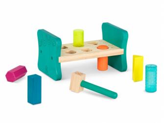 Zatloukačka dřevěná Pound & Play 2