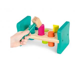 Zatloukačka dřevěná Pound & Play 3