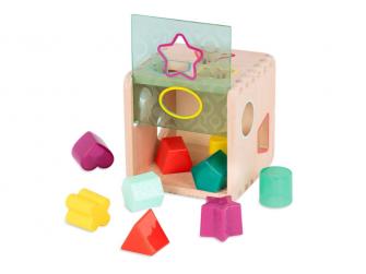 Kostka dřevěná s vkládacími tvary Wonder Cube 3