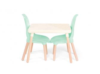 Dětský stolek + 2 židličky Mint 2