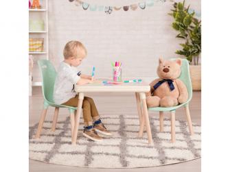Dětský stolek + 2 židličky Mint 3