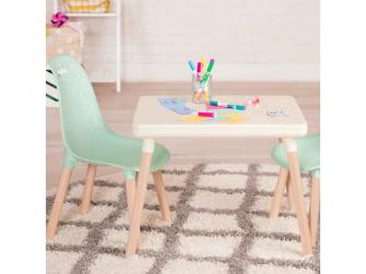 Dětský stolek + 2 židličky Mint 4