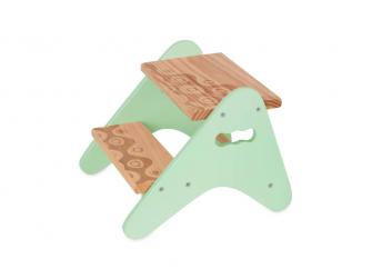 Schůdky dřevěné Mint 2