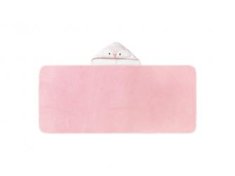 Osuška s kapucí Hug 'n' Dry 6-48m Penny Pink 2
