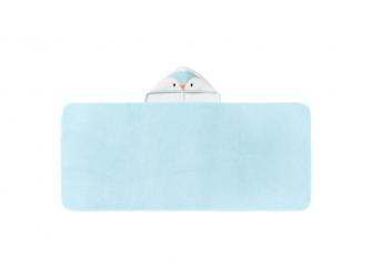 Osuška s kapucí Hug 'n' Dry 6-48m Percy Blue 2