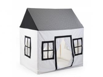 Domek textilní Black&White 125x95x145 cm