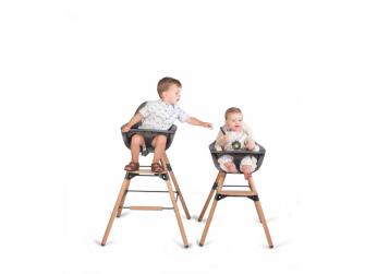 Židlička 2v1 Evolu 2 Natural / Anthracite 9