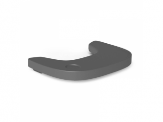 Pult k židličce Evolu 2 ABS Anthracite