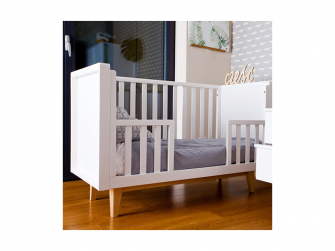 SCANDY dětská postýlka 120x60cm bílá 10