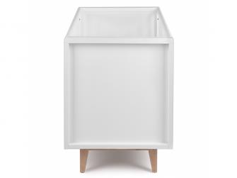 SCANDY dětská postýlka 120x60cm bílá 3