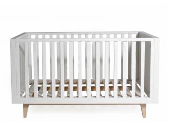 SCANDY dětská postýlka 120x60cm bílá 6