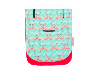 Podložka do kočárku Comfi-Cush Flamingo