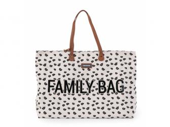 Cestovní taška Family Bag Canvas Leopard