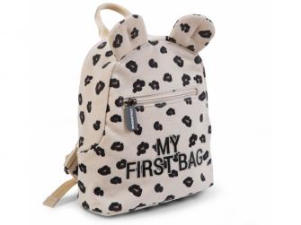Dětský batoh My First Bag Canvas Leopard 3