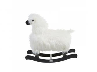 Houpací ovečka bílá 2