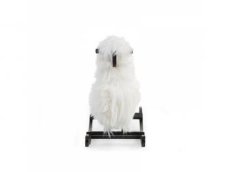 Houpací ovečka bílá 3