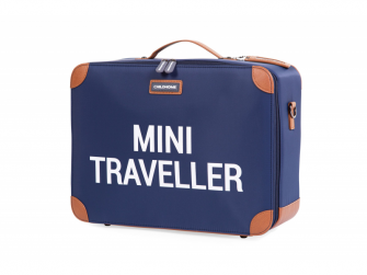 Dětský cestovní kufr Navy White
