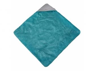 Zavinovačka multifunkční MAZLÍK Outlast®78x78cmšedá/mentolová 3