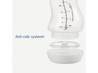 Kojenecká S-lahvička , Antikolik, cihlová, 250ml 4