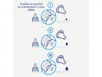 Nastavitelná kojenecká S-láhev 1-2-3 Natural 250ml 7