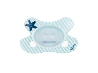 Dudlík Dental Blue novorozenecky