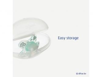 Sterilizační vajíčko na dudlíky transparentní 5