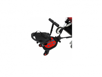 Lady Bug Rider se sedátkem a řidítky 3