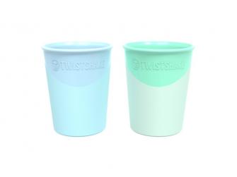 Kelímek 2x 170ml 6+m Pastelově modrá/zelená