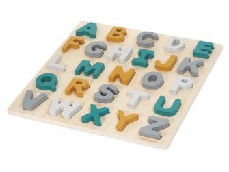 Dřevěné puzzle ABC Caspar