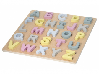 Dřevěné puzzle ABC Hanna