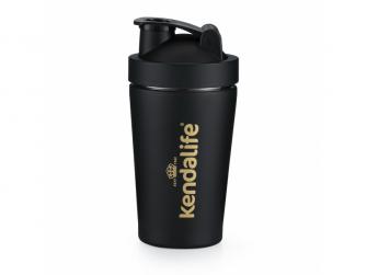 Kendalife Shaker nerezový černý (600 ml)