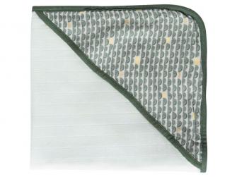 Mušelínový ručník s kapucí bambus Bow Deco