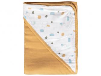Mušelínový ručník s kapucí bambus Childs Play