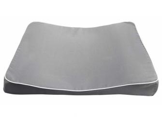 Velká přebalovací podložka Luma XL 77x74 s PU potahem Dark Grey 3