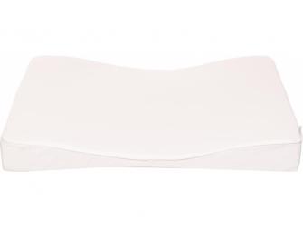 Velká přebalovací podložka Luma XL 77x74 s PU potahem Snow White 3