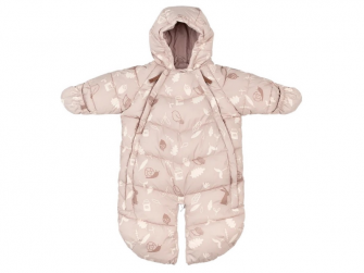Baby Overall Pink Forest 3 - 9 měsíců