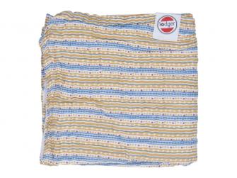 Dreamer Muslin Stripe Xandu Honey 120 x 120 cm