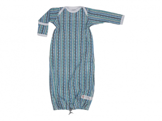 Hopper Newborn Stripe Xandu Dusty Turquoise vel. 50/62