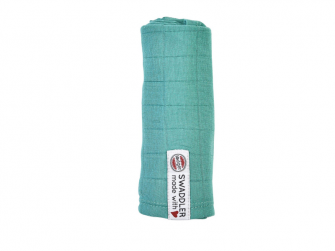 Swaddler Solid 70 x 70 cm Dusty Turquoise