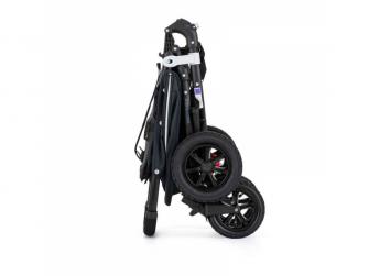 Kočárek sportovní Snap 4 Sport Flat Matte LTD Edition Deep Blue s prvky z ekokůže Caram 6