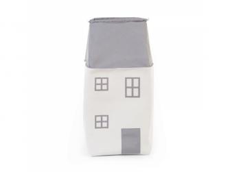 Box na hračky Dům Grey Off White 3