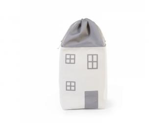 Box na hračky Dům Grey Off White 5