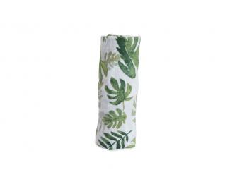Mušelínová zavinovací plena 120x120cm Tropical Leaf 2
