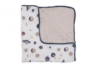 Mušelínová deka 120x120cm Planetary 2
