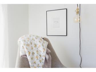 Mušelínová deka 120x120cm Yellow Rose 7