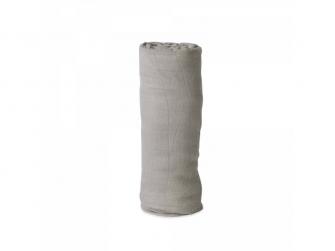 Mušelínová zavinovací plena Deluxe 120x120cm Warm Grey 2
