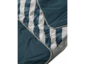 Hrací deka outdoorová 150x210cm Navy Gingham 3