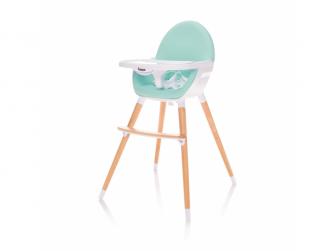 Dětská židlička Dolce, Ice Green-mintová