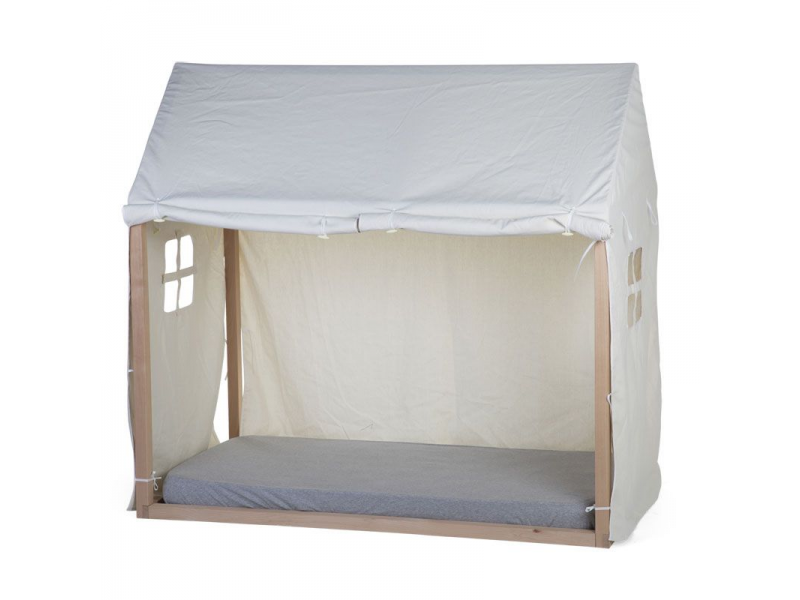 Textilní potah Tipi White na rám postele Domek 70x140cm 1